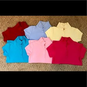Nautica Uniform Polo Bundle Girls Size XL (16)